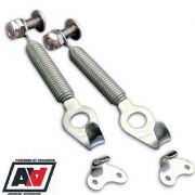 Grayston Competition Silver Stainless Steel Spring Clips Car Bonnets & Boots
